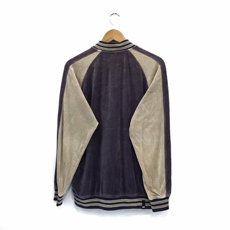 36c1e08906f24 RARE!! Vintage Vans Velvet Sukajan USA Off The Wall Big Spellout Sweatshirt  Jumper Pullover Sweater Hoodies