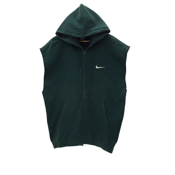 RARE!! Nike Big Logo Sleeveless Sportswear Hoodies
