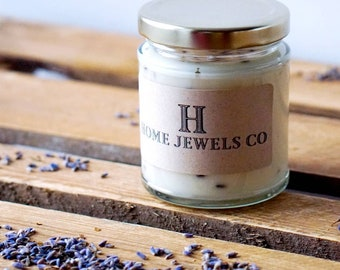 Lavender Scented - Essential Oil Soy Candles