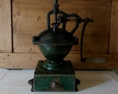 Commercial coffee mill Peugeot Frères coffee grinder grocery coffee grinder counter coffee grinder coffee grinder 1930 1940