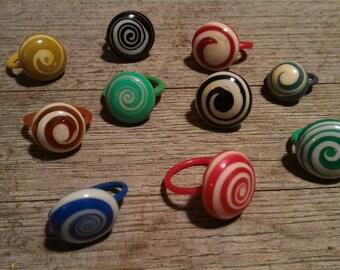 Flip flops rings recycled packs of 3 - Made in Mali