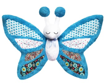 Very soft Butterfly plush handmade child gift