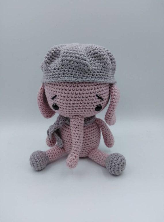 Patrón gratis amigurumi de llavero elefante - amigurumis y más | 769x570