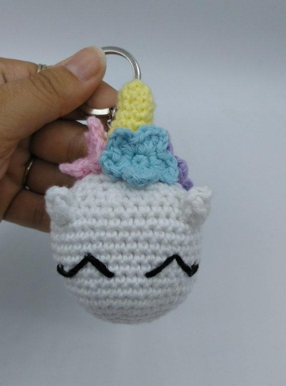 My First Amigurumi: Unicorn crochet - Tutorial step by step ... | 769x570