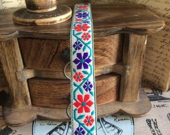 Jacquard ribbon vintage stars 2 cm