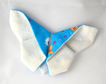 "Broche papillon origami ""White Spring"""