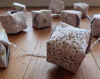 origami string light