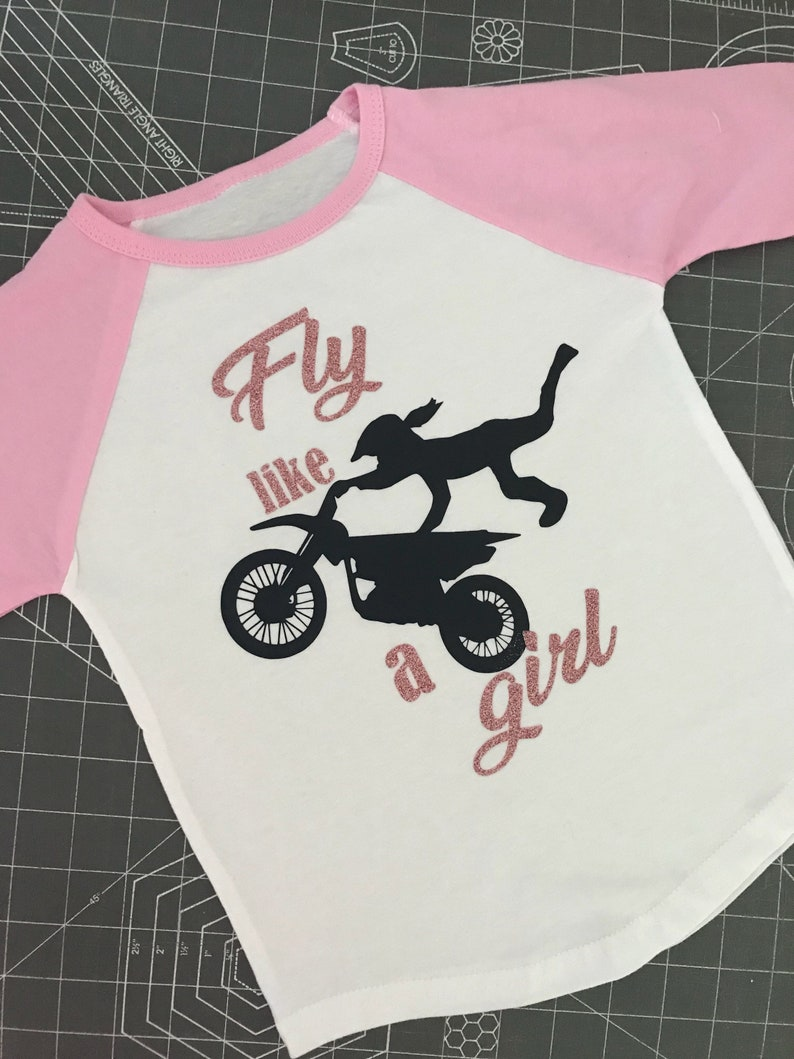 60773013098 Dirt bike Motocross Moto kids toddler shirtsgirlie dirtbike | Etsy