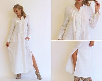c9740b2ae Made in Italy, woman linen dress, kaftan for woman, linen kaftan, plus size  caftan, tunic for woman, italy linen dress, caftan dress
