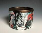 21- RIOT Planter, Ceramic Planter, custom planter, plants, bonsai planter, ceramic container, wheel thrown pottery, ceramics, planter