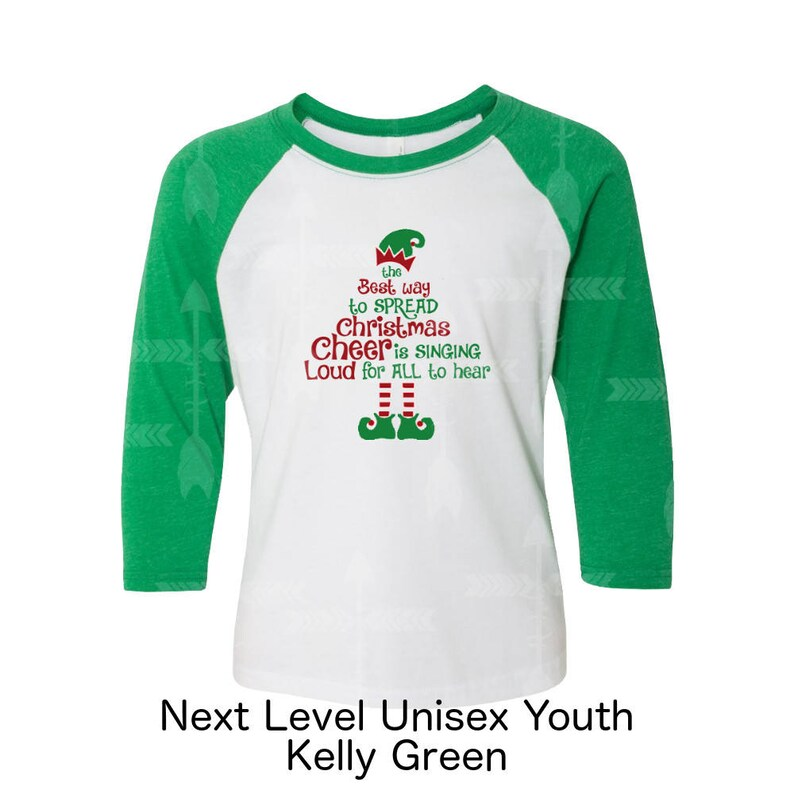 d9c9afb3b9 Buddy shirt Christmas shirt Green elf shirt Christmas cheer | Etsy