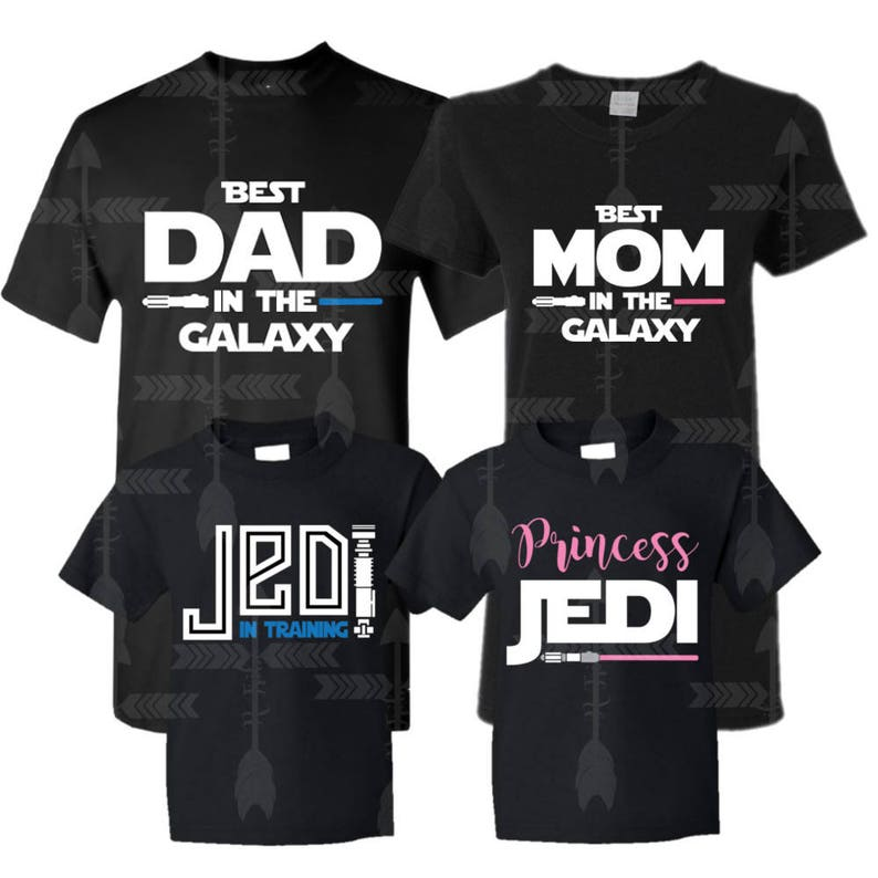 c33fd2a6 Jedi Family shirts Star Wars family shirts Family vacation | Etsy