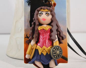 Doll decoration - Collection label - Wonder Women