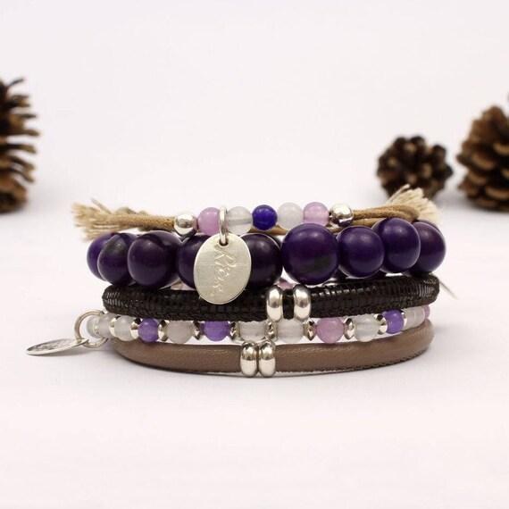 bracelets boho chic cadeau f te des m res bracelet boho femme etsy. Black Bedroom Furniture Sets. Home Design Ideas