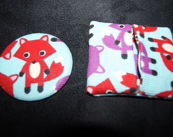 Fox Pocket mirror and matching wallet