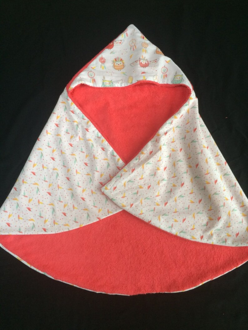 birth gift Hooded towel bath towel Hoodie for baby