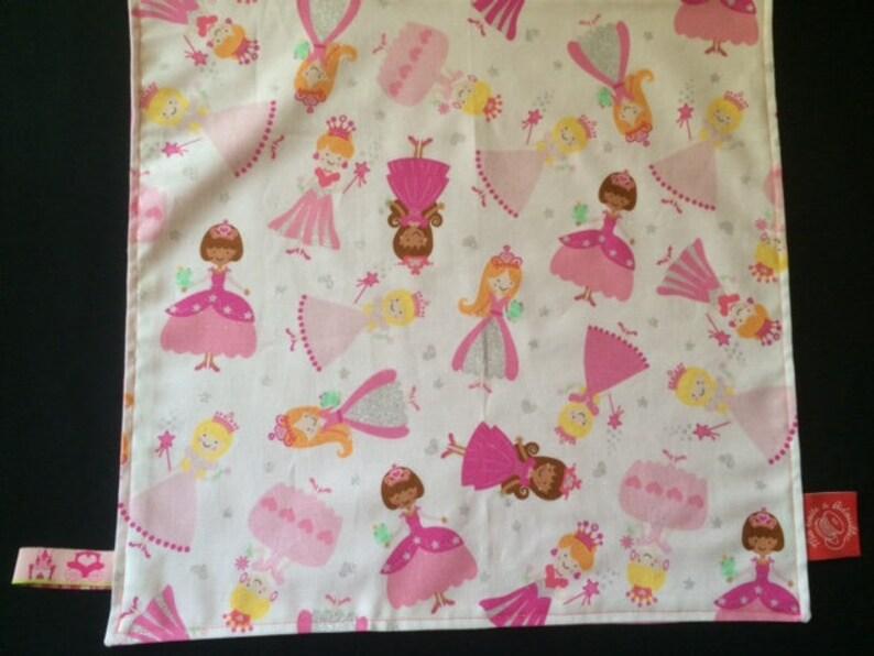 Serviette De Table Gouter Pour Ecole Maternelle Princesses Etsy