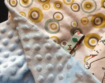 blanket / baby plaid dinosaurs