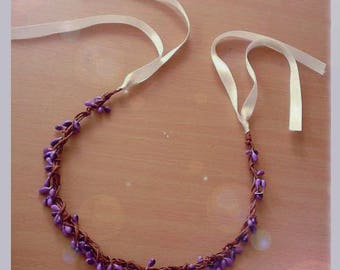 artificial purple Berry bridal Crown