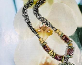 Flora And Fauna Nature Necklace