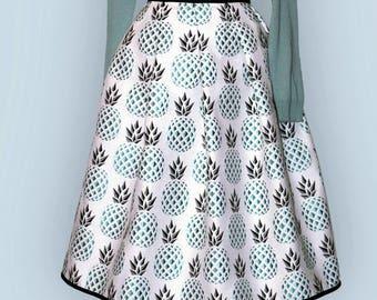 Pineapple-reversible - 2 skirts in 1 skirt