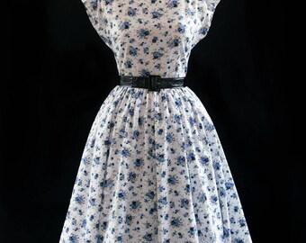 50's style retro dress