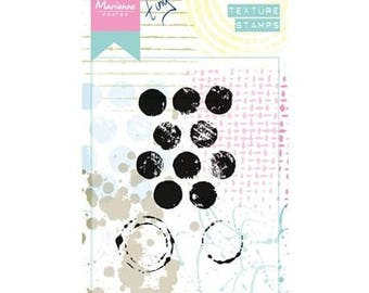 Marianne Design background Texture Dots new clear stamp