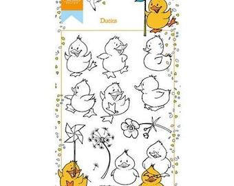 Marianne Design Hetty's ducks new clear stamp