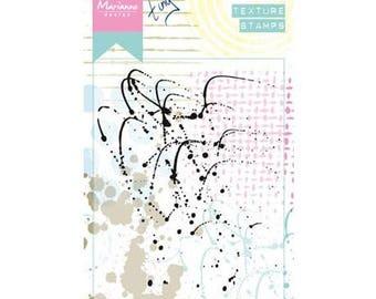 Marianne Design background Texture Splatters new clear stamp