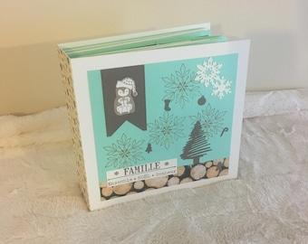Christmas family Scrapbook photo album