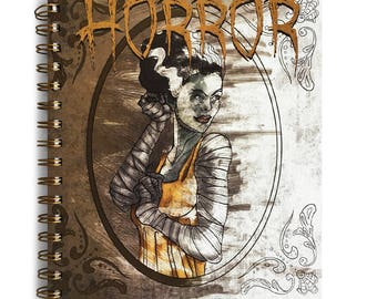 Horror Movies Coloring Book (7 x 8.5 inches) - Vampires vs Werewolves vs Zombies! Which will you color first?