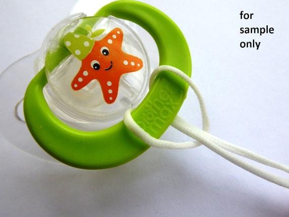 para chupete cadena para chupete 3er repostería o-ring BPA-libre anillo de silicona adaptador