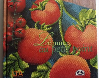New - PETIT POINT by José AHumada vegetables book