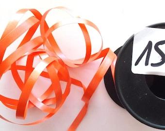 BOLDUC packaging gifts x 20 meters color ORANGE REF. 154