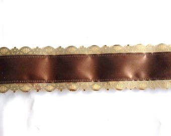 BOLDUC packaging gifts x 5 color chocolate and gold REF. 925