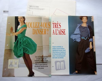 PASSION No. 20 sewing patterns - Dress of the night and pants women