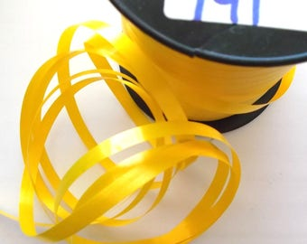 BOLDUC packaging gifts x 20 meters color yellow REF. 141
