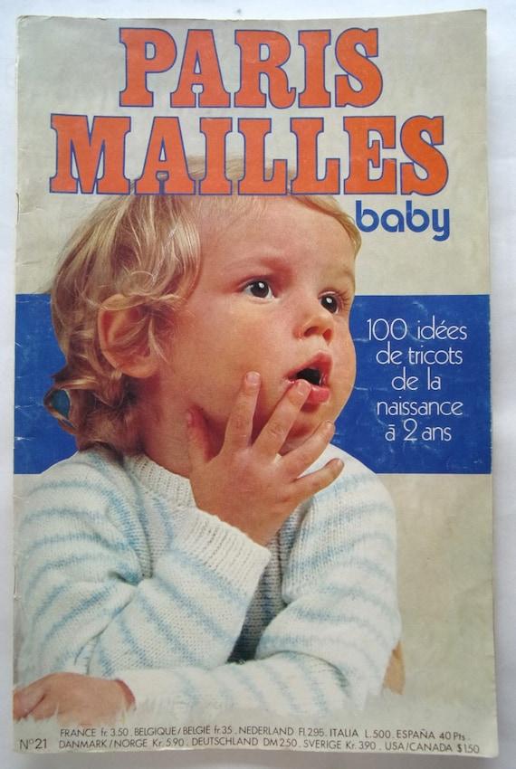 Katalog Strickwaren Vintage Paris Mesh Baby Nr 21 Etsy