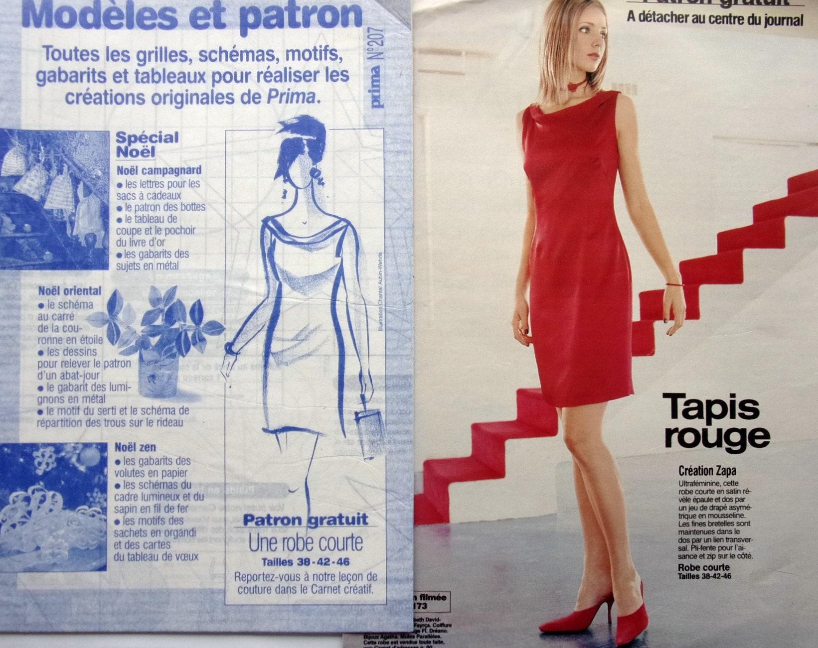Patron Abat Jour Papier boss prima no. 207 - dress short women