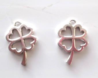 5 charms for creating jewelry leaf REF. 44