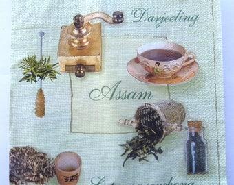COLLECTION of teas No. 20 napkins   3242