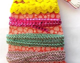 set of 5 ribbons fancy - 13 metres - REF. 105810