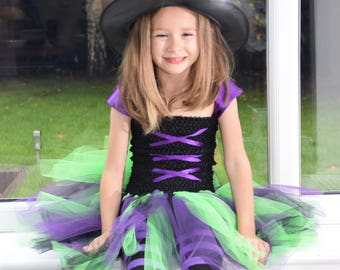 Witch tutu dress up costume