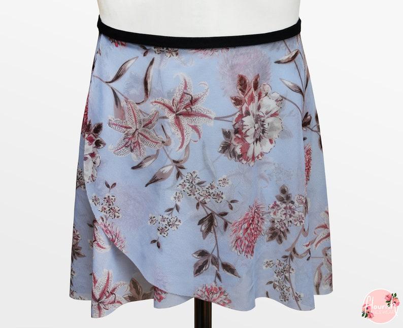 e38abbe56dc0b Gemma Ballet Wrap Skirt Ballet Skirt Dance Skirt