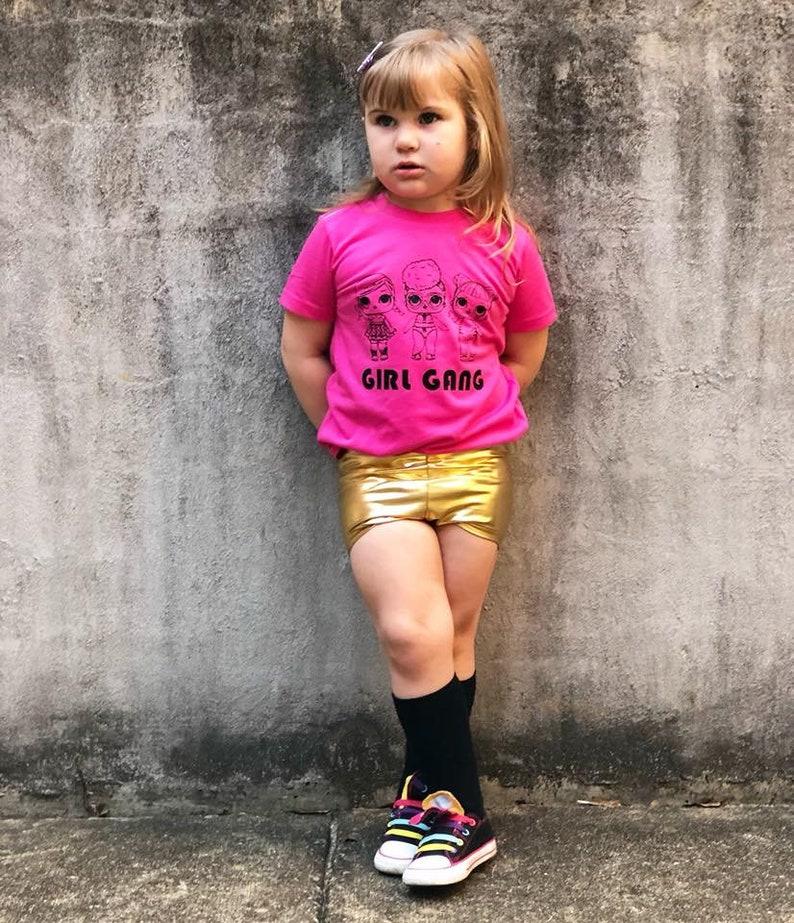 mermaid bummies Holographic bummies toddler shorts Metallic Magic Bummies pink bummies High waist bummies Shiny bummies gold bummies