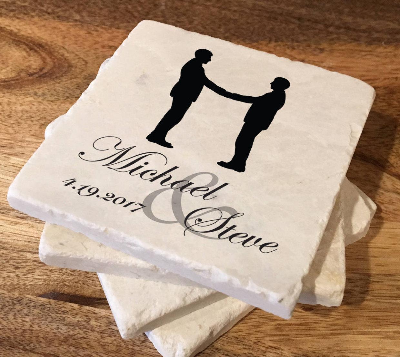 Gay Hochzeitsgeschenk / LGBT Hochzeitsgeschenk / Custom | Etsy