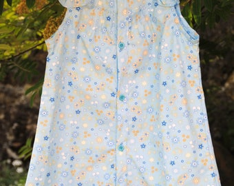 Front buttoned dress