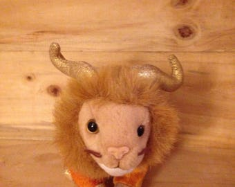 Yaxley, the Stuffed Lion/Yak Hybrid
