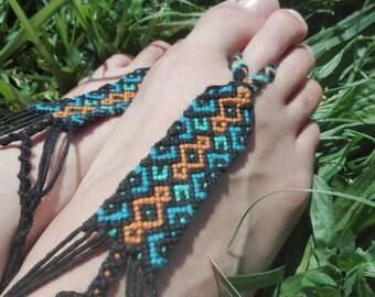 Foot jewelry / Barefoot way friendship bracelet