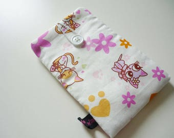 Phone Pouch Cats and cats